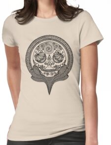 Trophy Skull Womens Fitted T-Shirt