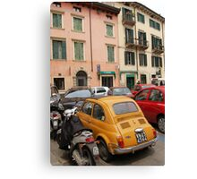 Typical Street in Italy Canvas Print