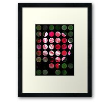 Pink Roses in Anzures 2 Art Circles 1 Framed Print