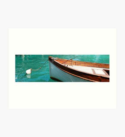 Wooden boat at Rest Art Print
