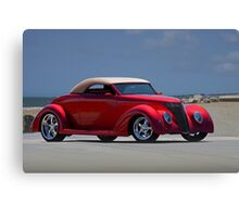 1937 Ford Convertible Coupe Canvas Print