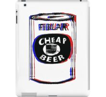 FIDLAR- Cheap Beer iPad Case/Skin
