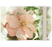 Mother's Day Gift Rose Poster