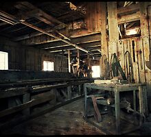 Fineid Saw Mill inside by Morten Kristoffersen