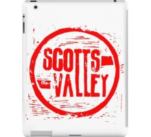 Scotts Valley iPad Case/Skin