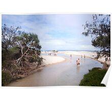 Eli Creek, Fraser Island Poster