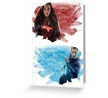 The Maximoffs Greeting Card