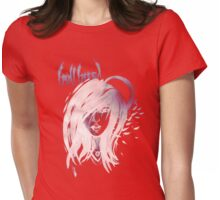 International Halfbreed - White Ink - an Aaron Paquette Womens Fitted T-Shirt