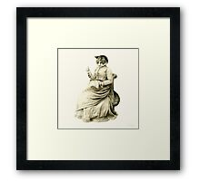 Victorian Cat Series 05 Framed Print