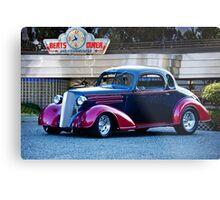 1936 Chevrolet 'Deco Rod' Coupe Metal Print