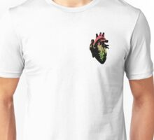 Aroflux Pride Heart (with black detail) Unisex T-Shirt