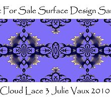 Cloud Lace Surface Design Sample by scholara