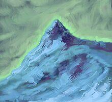Blue mountain by astrosim