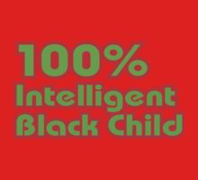 100% Intelligent Black Child Kids Clothes