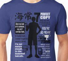 Kise Ryouta Quotes Unisex T-Shirt