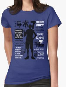 Kise Ryouta Quotes Womens Fitted T-Shirt