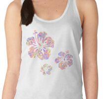 Hawaiian flower pattern 2 Women's Tank Top