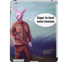Hunter Rabbit iPad Case/Skin