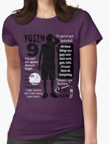 Murasakibara Atsushi Quotes Womens Fitted T-Shirt