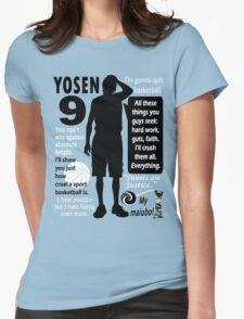 Murasakibara Atsushi Quotes Womens Fitted T-Shirt
