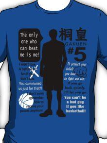 Aomine Daiki Quotes T-Shirt