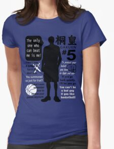 Aomine Daiki Quotes Womens Fitted T-Shirt