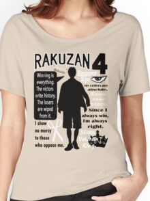 Akashi Seijurou Quotes Women's Relaxed Fit T-Shirt