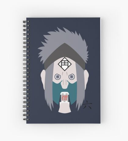 Chikamatsu's Collection of Ten Puppets 6 Spiral Notebook