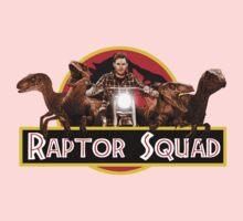 Raptor Squad - Jurassic World shirt One Piece - Long Sleeve