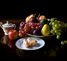 Still Life With Fruit by Endre