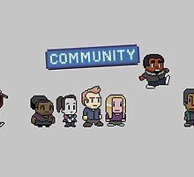 Pixel Community by Painhax