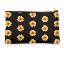 Orange Flowering Dahlia - Small Flowers Studio Pouch
