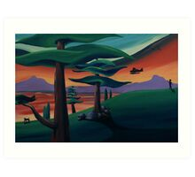 Seaplane #2 Art Print