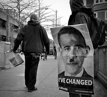 Obama has changed?  by elvisjak