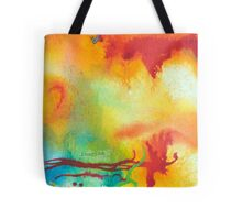 Imagine Affirmation - Bright abstract painting Tote Bag