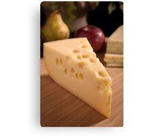 Cheese Board Canvas Print