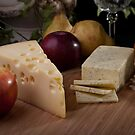 Wine and Cheeses by Jerry Deutsch