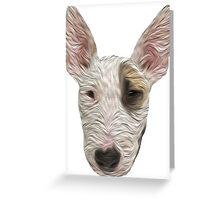 Bull Terrier II Greeting Card