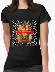 Geometric Rich Ho Dynasty (Black) Womens Fitted T-Shirt