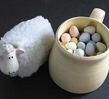 Lamb & Eggs by Judi FitzPatrick