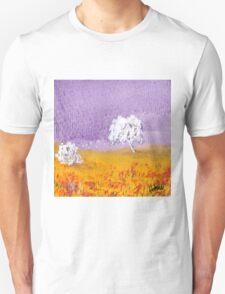 Purple and Gold Landscape T-Shirt