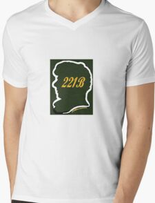 Welcome to 221B Mens V-Neck T-Shirt