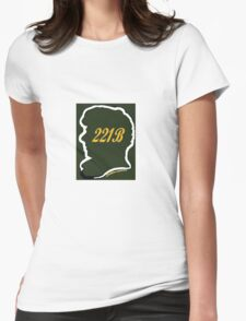 Welcome to 221B Womens Fitted T-Shirt