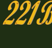 Welcome to 221B Sticker