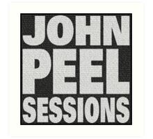 Peel Sessions Infographic Art Print