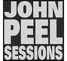 Peel Sessions Infographic Photographic Print