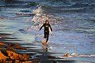 Surfer at Torquay by Darren Stones