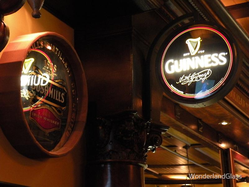 whiskey & stout {Happy St. Patrick's Day} by WonderlandGlass