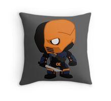 Deathstroke Arrow Throw Pillow