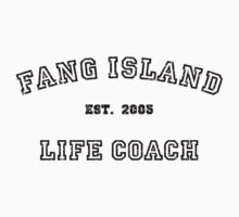 Fang Island Life Coach (Black) by PonchTheOwl